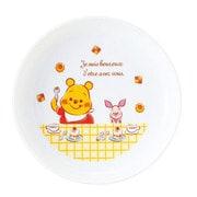 806108 [くまのプーさん 軽量強化 幼児用食器シリーズ 丸皿]