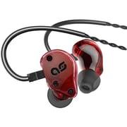 ASG2.5-RED [インイヤーヘッドホン レッド]