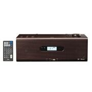 RD-W1-T [Bluetooth対応 CDコンポ ブラウン ワイドFM対応]
