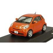 JC60005OR [1/43スケール Toyota iQ 2009 オレンジメタリック ダイキャストミニカー]