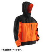 DA007RW [ウォータープルーフサイクルウェア Mサイズ 男女兼用 フラッシュオレンジ/ブラック]