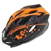 DH001 [ヘルメット ブラック/オレンジ]