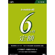BM-GTPL-6MN [bモバイル 4G 6ヶ月定額SIMパッケージ (180日) ナノSIM]