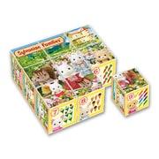 シルバニアファミリー キューブパズル 9コマ 13-88 [知育玩具]