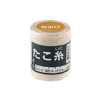 22-8106 [たこ糸 綿撚り糸 #4]