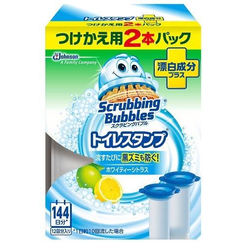 トイレスタンプ 漂白成分プラス [トイレ用スタンプ ホワイティーシトラス つけかえ用 38g×2]