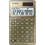 SL-Z1000-GD-N [デザイン電卓 手帳タイプ 10桁 ゴールド]