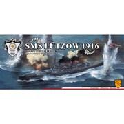 FLYFH1301 ドイツ巡洋戦艦 リュッツオウ 1916 [1/700スケール プラモデル]