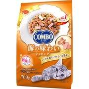 コンボ キャット かつお味・鮭チップ・かつおぶし添え 700g [キャットフード]