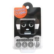 CU-GM-03 [キャラキューブ USBポート AC充電器 ガチャピン・ブラック]