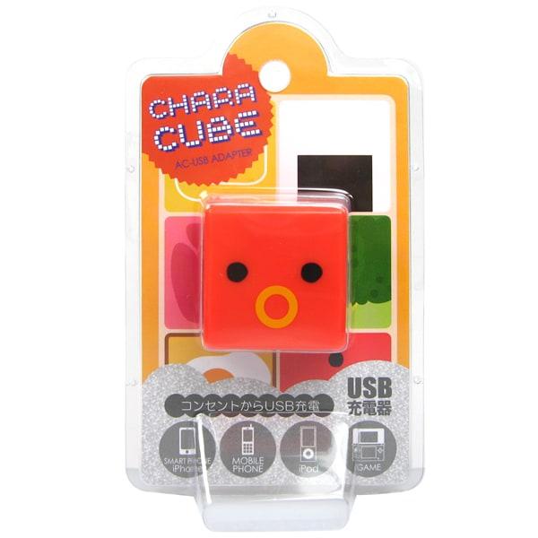 CU-LU-01 [キャラキューブ USBポート AC充電器 ランチBOX・タコウィンナー]