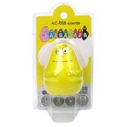 DI-BP-03 [ダイカット USBポート AC充電器 バーバズー]