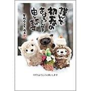 PA452 [未年 お年玉付年賀ハガキ3枚 特選パック フォトデザイン1]