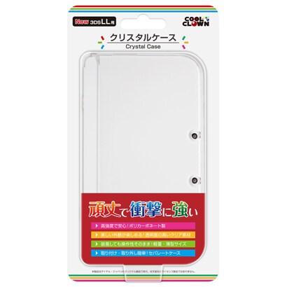 クリスタルケース [New 3DS LL用 ケース]
