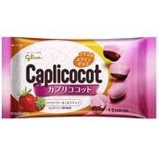 江崎グリコ カプリココット ストロベリー&ミルクチョコ 38g