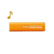 SPF-12-07AO [フリクションスタンプ 音符 アプリコットオレンジ]