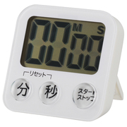 COK-T130-W [大画面デジタルタイマー ホワイト 単四1本使用]