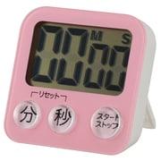 COK-T130-P [大画面デジタルタイマー ピンク 単四1本使用]