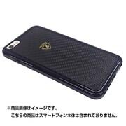LB-TPUPCIP6L-EL/D2-BK [iPhone 6 Plus/6s Plus 5.5インチ専用リアルカーボンスリムバンパーケース ランボルギーニ公式ライセンスケース]