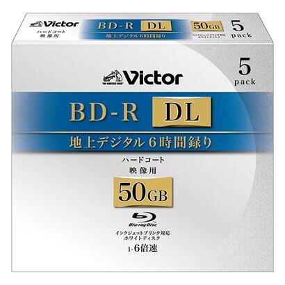 BV-R260LW5 [BD-R DL ホワイトプリンタブル 6倍速 5枚]