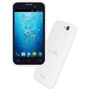 CP-F40S [FLEAZ F4s Android4.4搭載 4インチ液晶 SIMフリースマートフォン 3G専用 ホワイト]