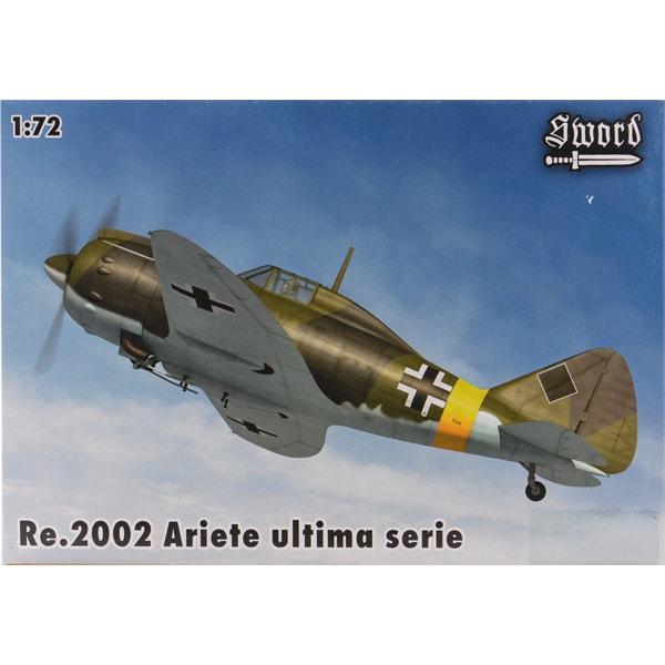 SWD72086 [1/72 レジアーネ Re.2002 ビス 戦闘爆撃機 「アリエテII 最終シリーズ」]