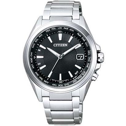 CB1070-56E [ATTESA(アテッサ) エコ・ドライブ電波時計 ダイレクトフライト 針表示式]