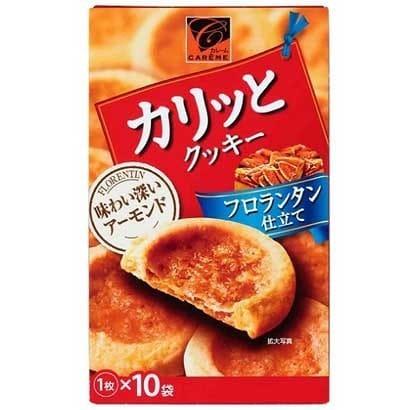 カレーム カリッとクッキーフロランタン仕立て 1枚×10袋 [1箱]