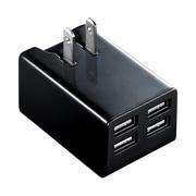 ACA-IP38BK [iPad iPhone iPod 各種タブレット スマートフォン 対応 USB充電器]