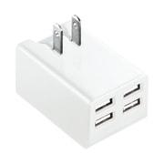 ACA-IP38W [iPad iPhone iPod 各種タブレット スマートフォン 対応 USB充電器]