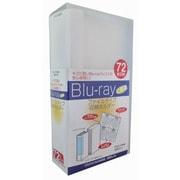 EBR-F72 [CD・DVD・Blu-rayディスク 72枚収納ホルダー ファイルタイプ]