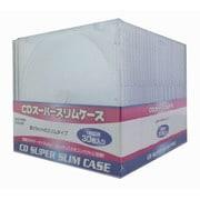 ECD-S30 [CDスーパースリムケース 1枚収納×30枚入り クリア]