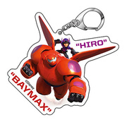 アクリルキーホルダー ベイマックス03 ベイマックス2.0&ヒロAK