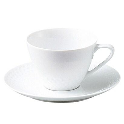 T5389L/1610 [リズモホワイト ティー・コーヒー碗皿]