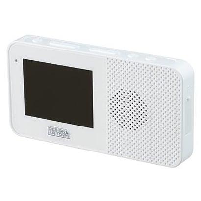 【返品種別A】 ワンセグTV/ ヤザワ [TV03WH] YAZAWA 4.3インチ液晶 TV03WH (ホワイト) FMラジオ AM/