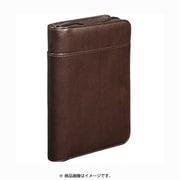 2360LF [レザフェス 通帳&カード収納ケース 茶]