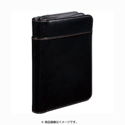 2360LF [レザフェス 通帳&カード収納ケース 黒]