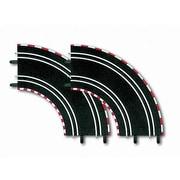カレラ 20061603 Carrera GO!!! D143 カーブ1 2pcs [サーキットパーツ]