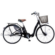 VLLC433M OK21 [電動アシスト自転車 Lilly Assist(リリーアシスト) パイプキャリヤバージョン 24型 内装3段変速 ブラック]