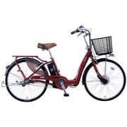 VLLC433M OR47 [電動アシスト自転車 Lilly Assist(リリーアシスト) パイプキャリヤバージョン 24型 内装3段変速 ネオダークコスモレッド]