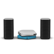 APS-S301JSBL/XV15 [Stellanova(ステラノヴァ) USB DAC アンプ(シルバー)・ワイヤレスユニット(ブルー)・スピーカーセット ハイレゾ音源対応]