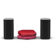 APS-S301JRP/XV15 [Stellanova(ステラノヴァ) USB DAC アンプ(レッド)・ワイヤレスユニット(ピンク)・スピーカーセット ハイレゾ音源対応]