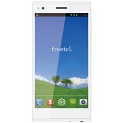 FT142D WH [XM Android 4.4搭載 5.0インチ液晶 SIMフリースマートフォン LTE対応 クリスタルホワイト]
