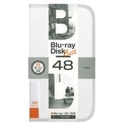 BD-080-48W [Blu-ray/DVD/CD用 ディスクケース 48枚 ホワイト]