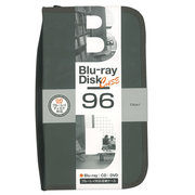 BD-080-96BK [Blu-ray/DVD/CD用 ディスクケース 96枚 ブラック]