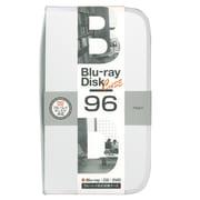 BD-080-96W [Blu-ray/DVD/CD用 ディスクケース 96枚 ホワイト]