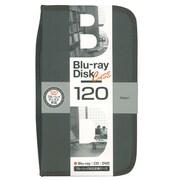 BD-080-120BK [Blu-ray/DVD/CD用 ディスクケース 120枚 ブラック]