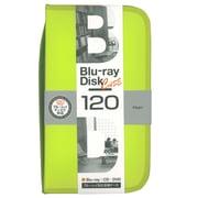 BD-080-120LY [Blu-ray/DVD/CD用 ディスクケース 120枚 ライムイエロー]