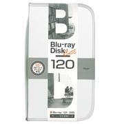 BD-080-120W [Blu-ray/DVD/CD用 ディスクケース 120枚 ホワイト]