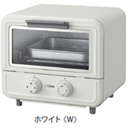 KAO-A850-W [オーブントースター やきたて ぷちはこ ホワイト]